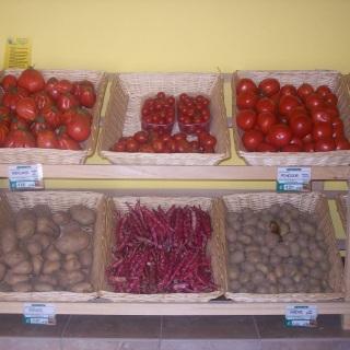 Patate, fagioli e pomodori... l'estate è arrivata!