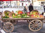 Colori d'autunno in piazza